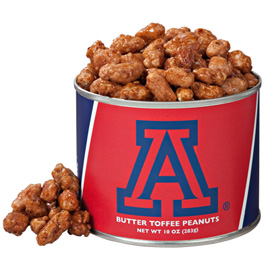 10 oz. Arizona Butter Toffee Peanuts