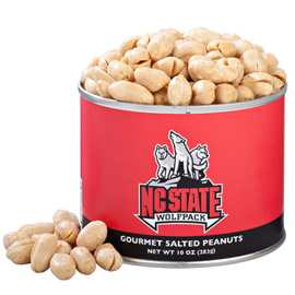 10 oz. North Carolina State Salted Gourmet Peanuts