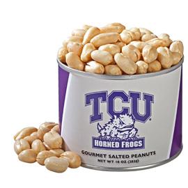 10 oz. Texas Christian Salted Gourmet Peanuts