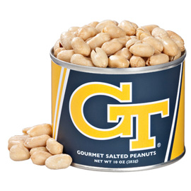 10 oz. Georgia Tech Salted Gourmet Peanuts