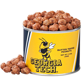 10 oz. Georgia Tech Butter Toffee Peanuts