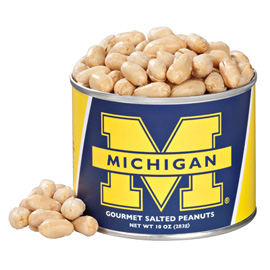10 oz. Michigan Salted Gourmet Peanuts