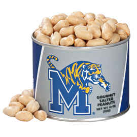 10 oz. Memphis State Salted Gourmet Peanuts