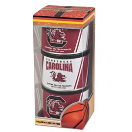 Univ of South Carolina Basketball Triplet (2 Salt, 1 BT)