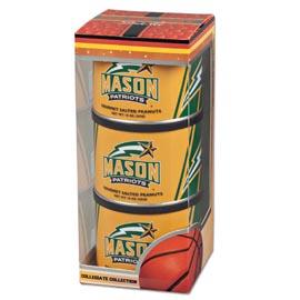 George Mason Basketball Triplet (3 Salted Peanuts)