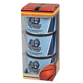 Old Dominion Basketball Triplet (3 Salted Peanuts)