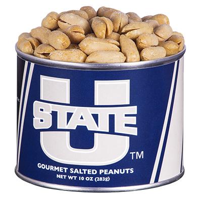 10 oz. Utah State Salted Gourmet Peanuts
