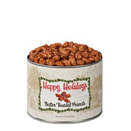 10 oz. Holiday Butter Toasted Peanuts