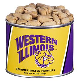 10 oz. Western Illinois Salted Gourmet Peanuts