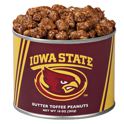 10 oz. Iowa State Butter Toffee Peanuts