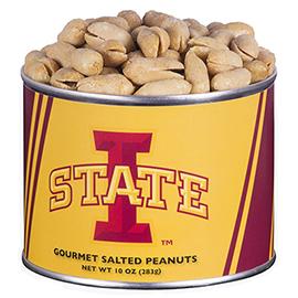 10 oz. Iowa State Salted Gourmet Peanuts