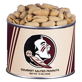 10 oz. Florida State Salted Gourmet Peanuts