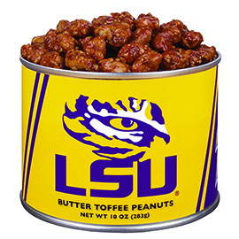 10 oz. Louisiana State Butter Toffee Peanuts