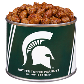 10 oz. Michigan State Butter Toffee Peanuts