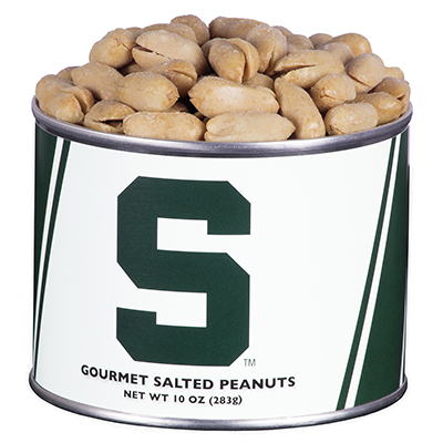 10 oz. Michigan State Salted Gourmet Peanuts