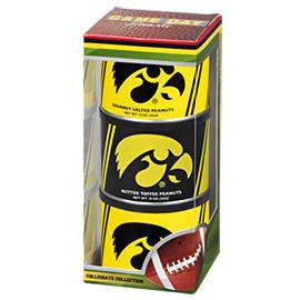 Iowa Football Triplet (2 Salt, 1 BT)