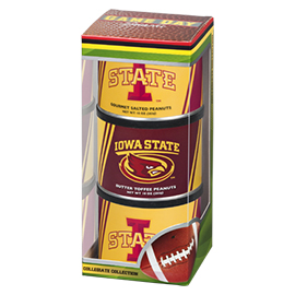 Iowa State Football Triplet (2 Salt, 1 BT)