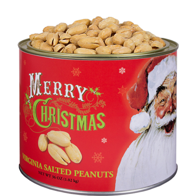 36 oz. Norman Rockwell® Christmas Salted Peanuts