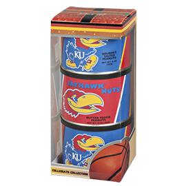 Kansas Basketball Triplet (2 Salt, 1 BT)