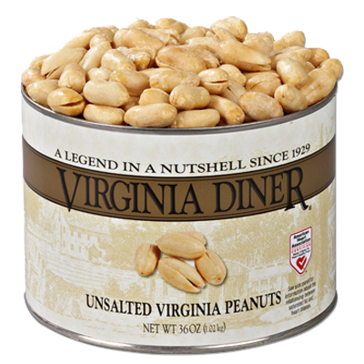 36 oz. Classic Unsalted Gourmet Virginia Peanuts