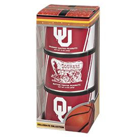 Oklahoma Basketball Triplet (2 Salt, 1 BT)