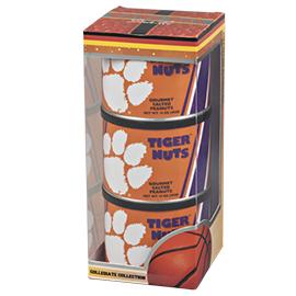 Clemson Basketball Triplet (3 Salted Peanuts)