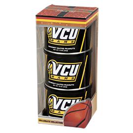 VCU Basketball Triplet (3 Salted Peanuts)