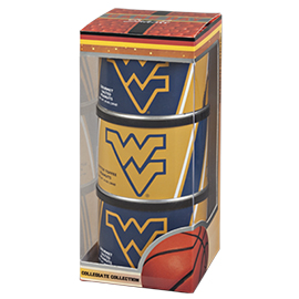 WV University Basketball Triplet (3 Salted Peanuts)