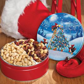 Penguin Tree Trimming Gift Tin