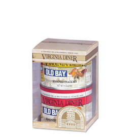 Old Bay® Peanuts and Old Bay® Snack Mix Duo Gift Set