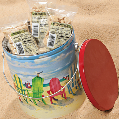 Beach Chairs Gift Tin
