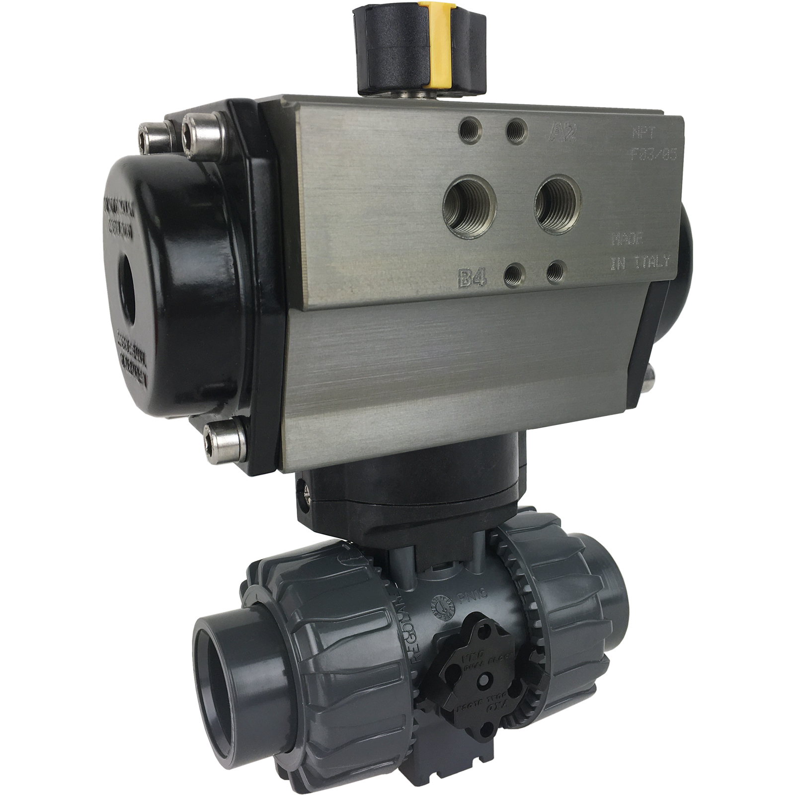 """1"""" Air Actuated PVC Ball Valve - Double Acting"""