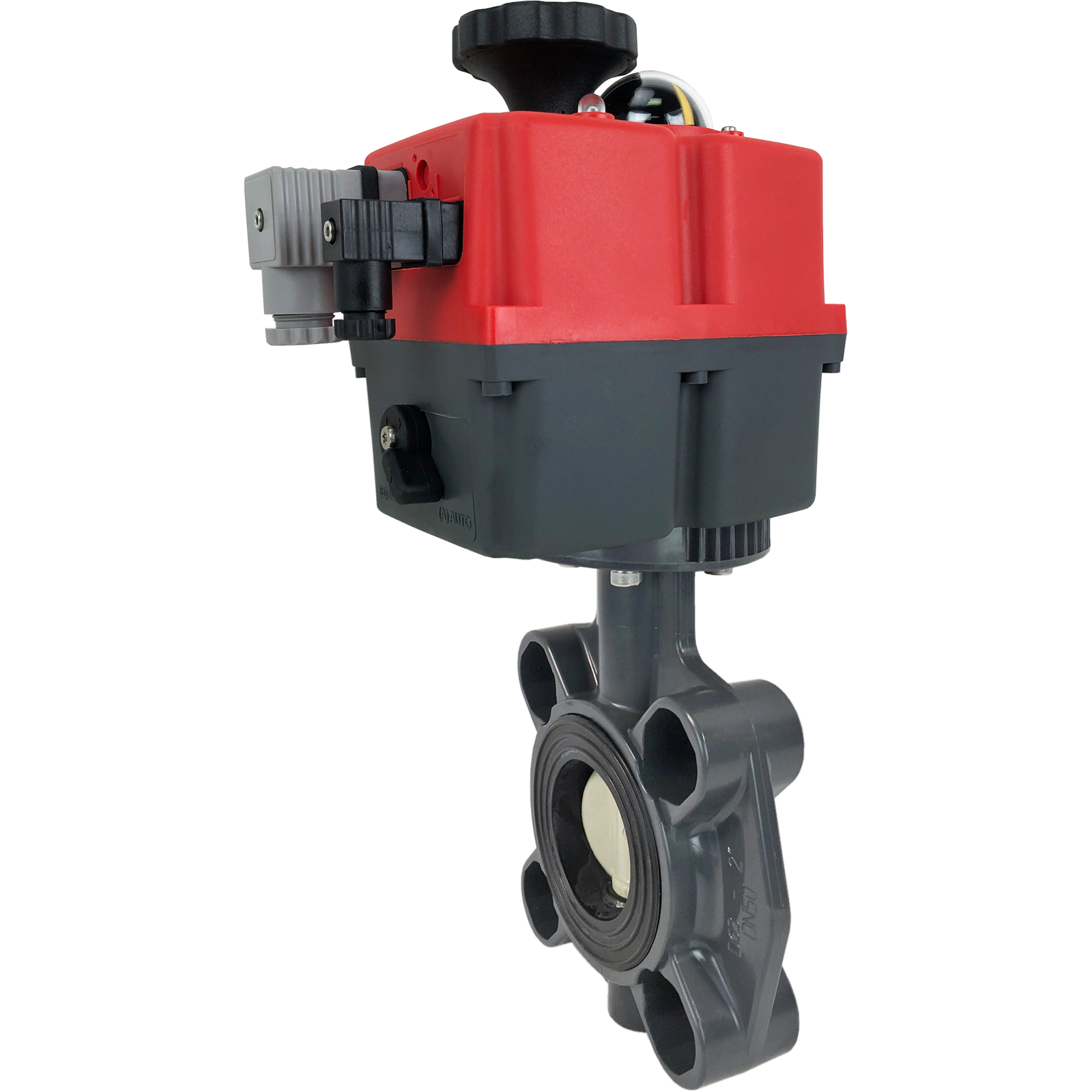 """2"""" Electric Actuated PVC Butterfly Valve 24-240V"""