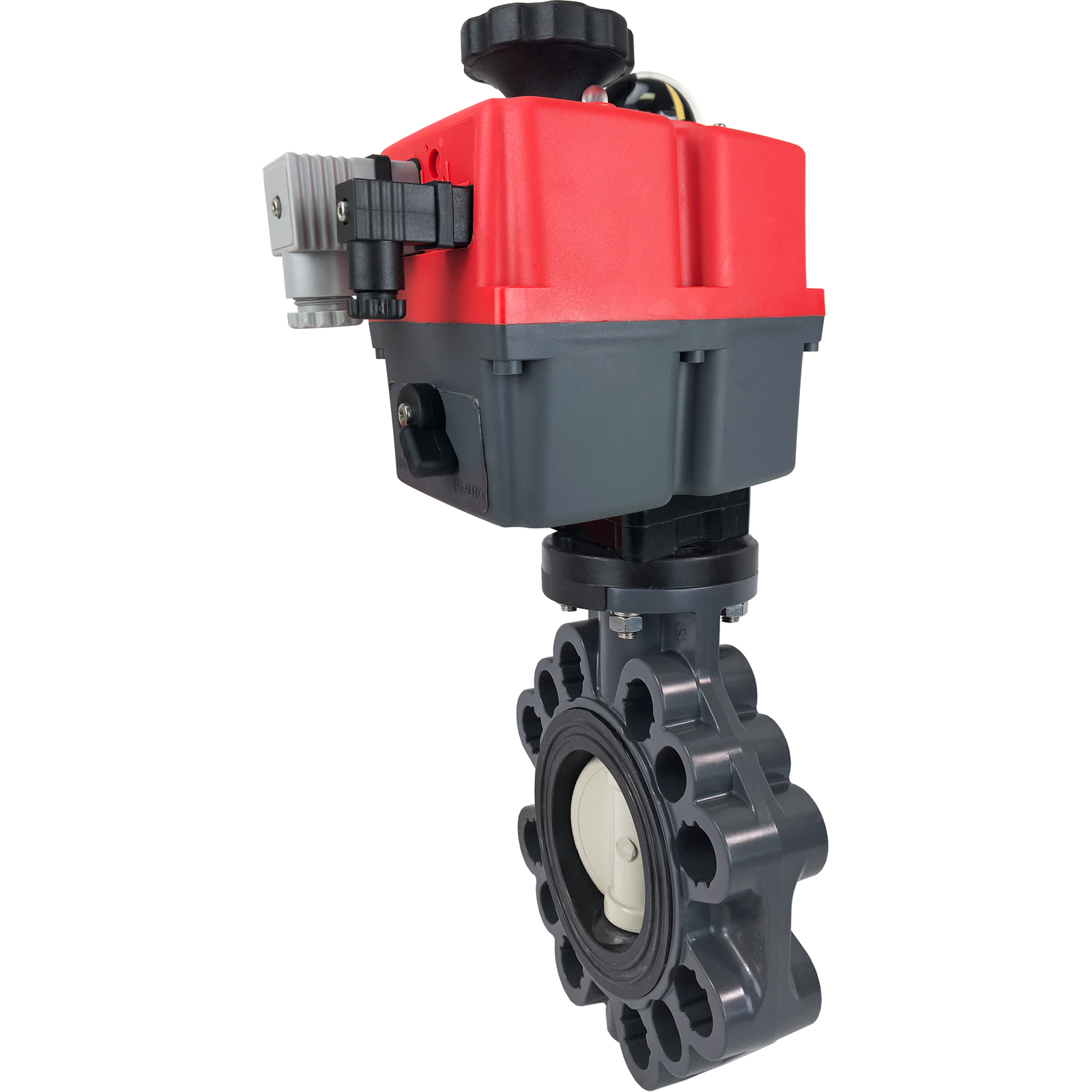 """3"""" Electric Actuated PVC Butterfly Valve 24-240V"""