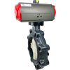 Air Actuated PVC Ball Valves- Scotch Yoke