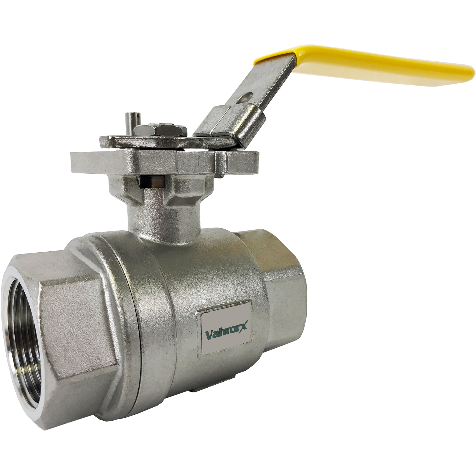 "1-1/4"" Stainless Ball Valve - Direct Mount"