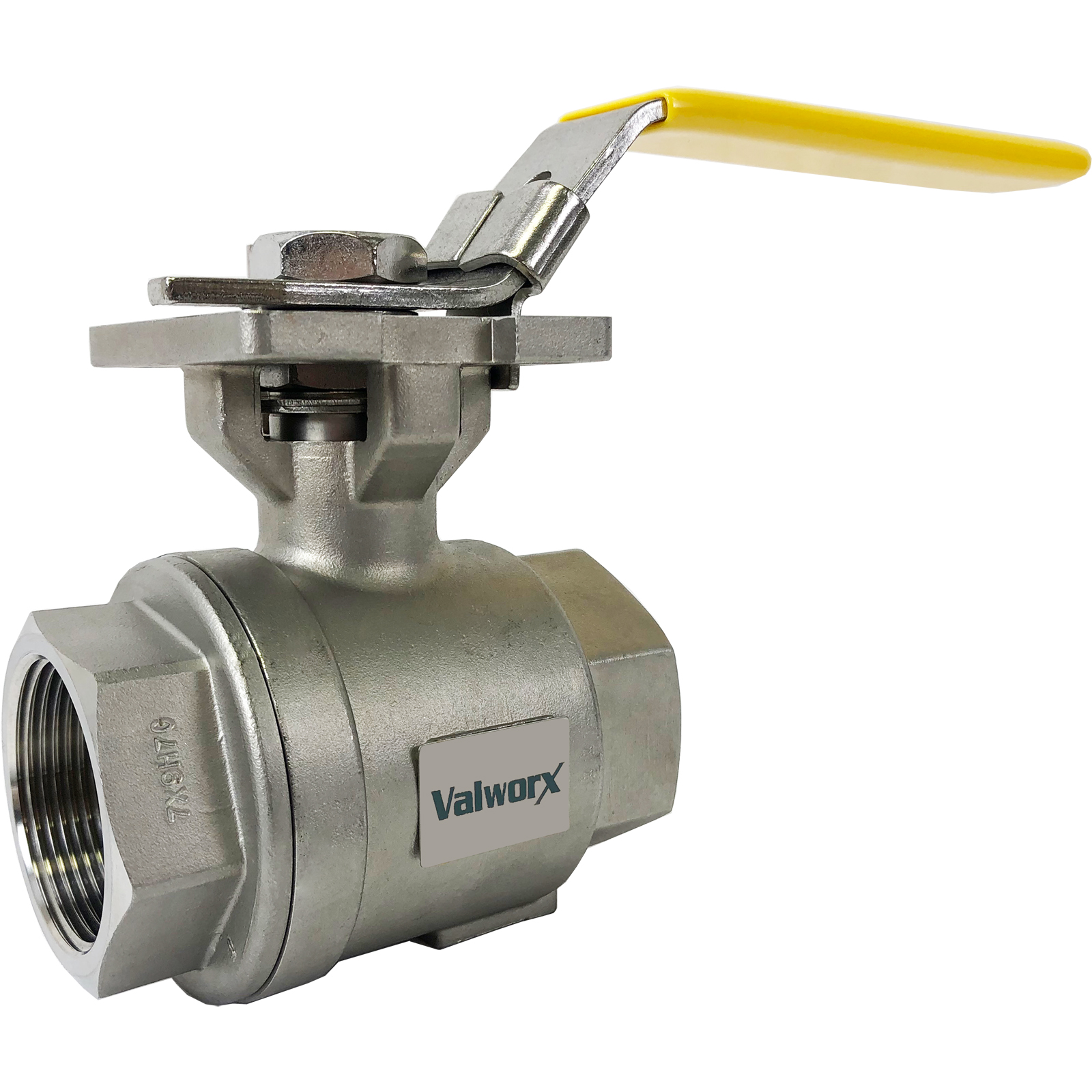 """1-1/2"""" Stainless Ball Valve - Direct Mount"""
