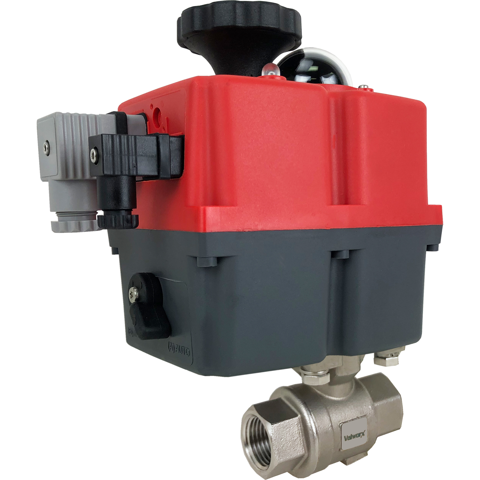 """1/2"""" Electric Actuated Stainless Ball Valve 24-240V"""