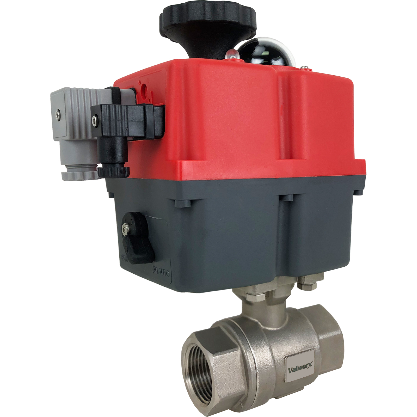 """1"""" Electric Actuated Stainless Ball Valve 24-240V"""