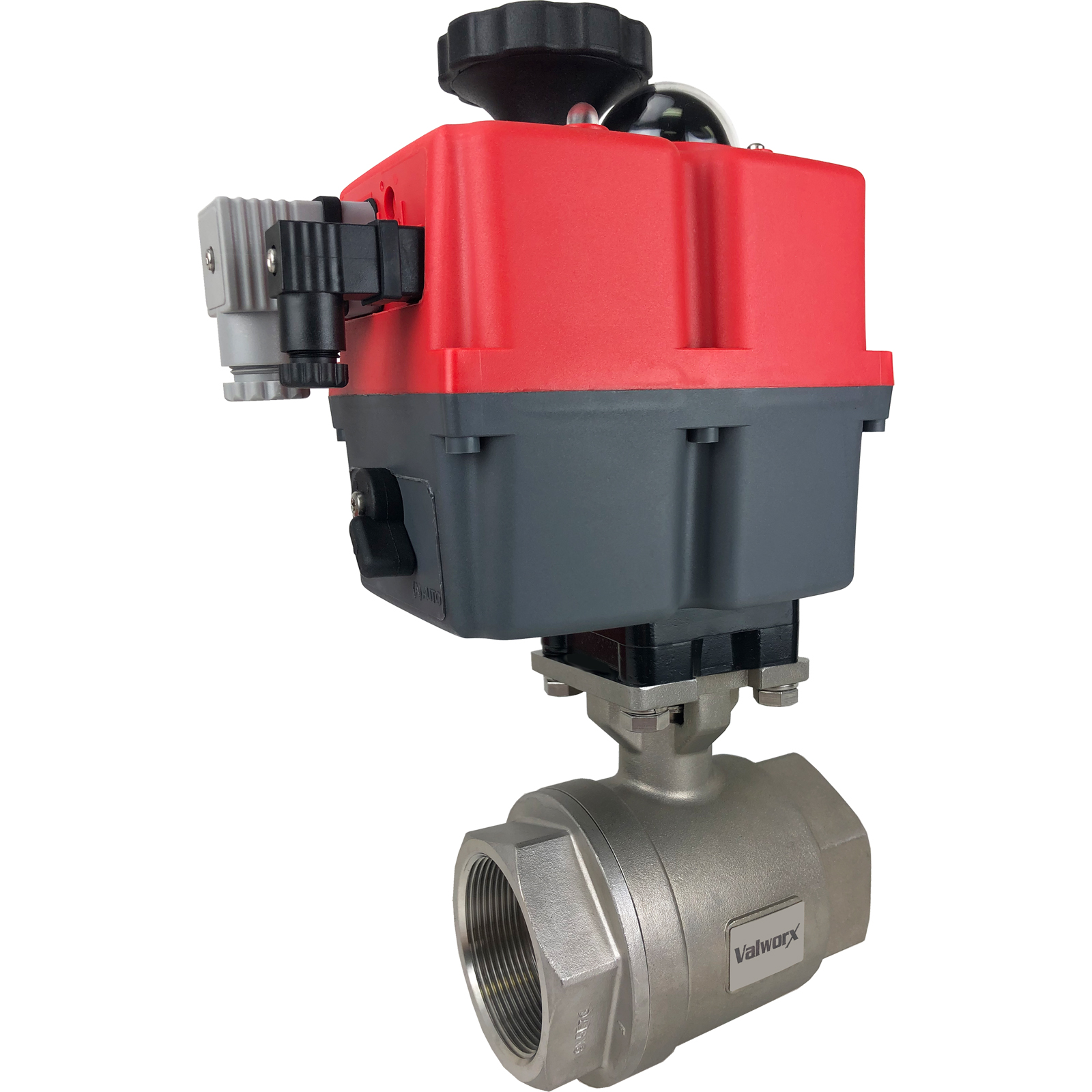"""2"""" Electric Actuated Stainless Ball Valve 24-240V"""