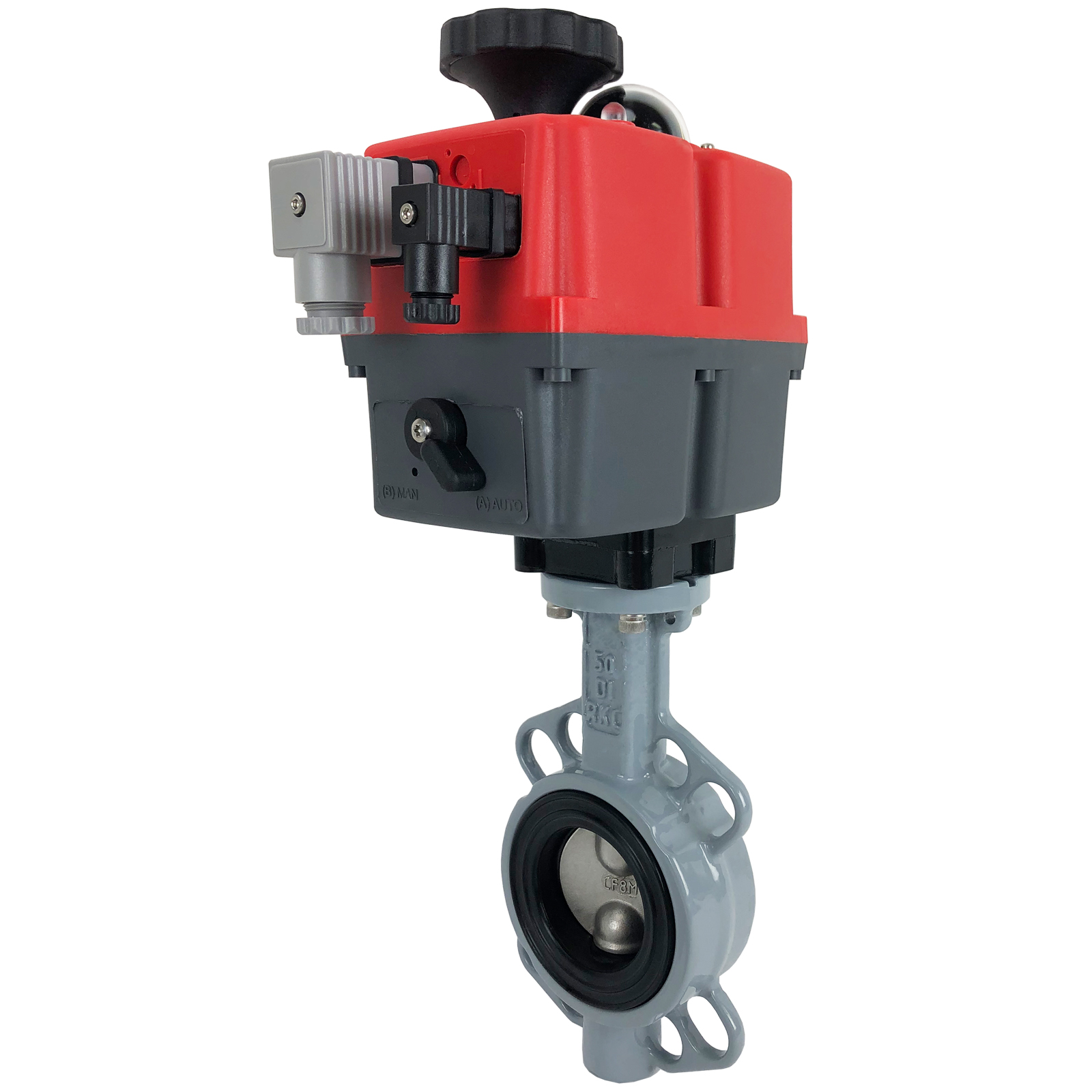 """2"""" Electric Actuated Butterfly Valve, Wafer, EPDM, 24-240V"""