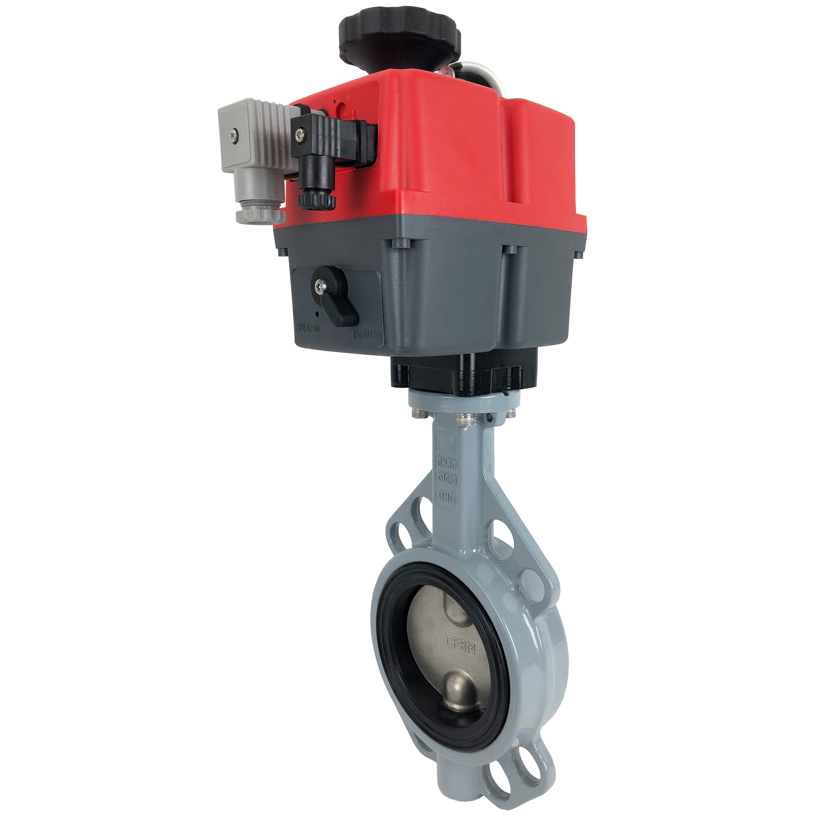 """3"""" Electric Actuated Butterfly Valve, Wafer, NBR, 24-240V"""
