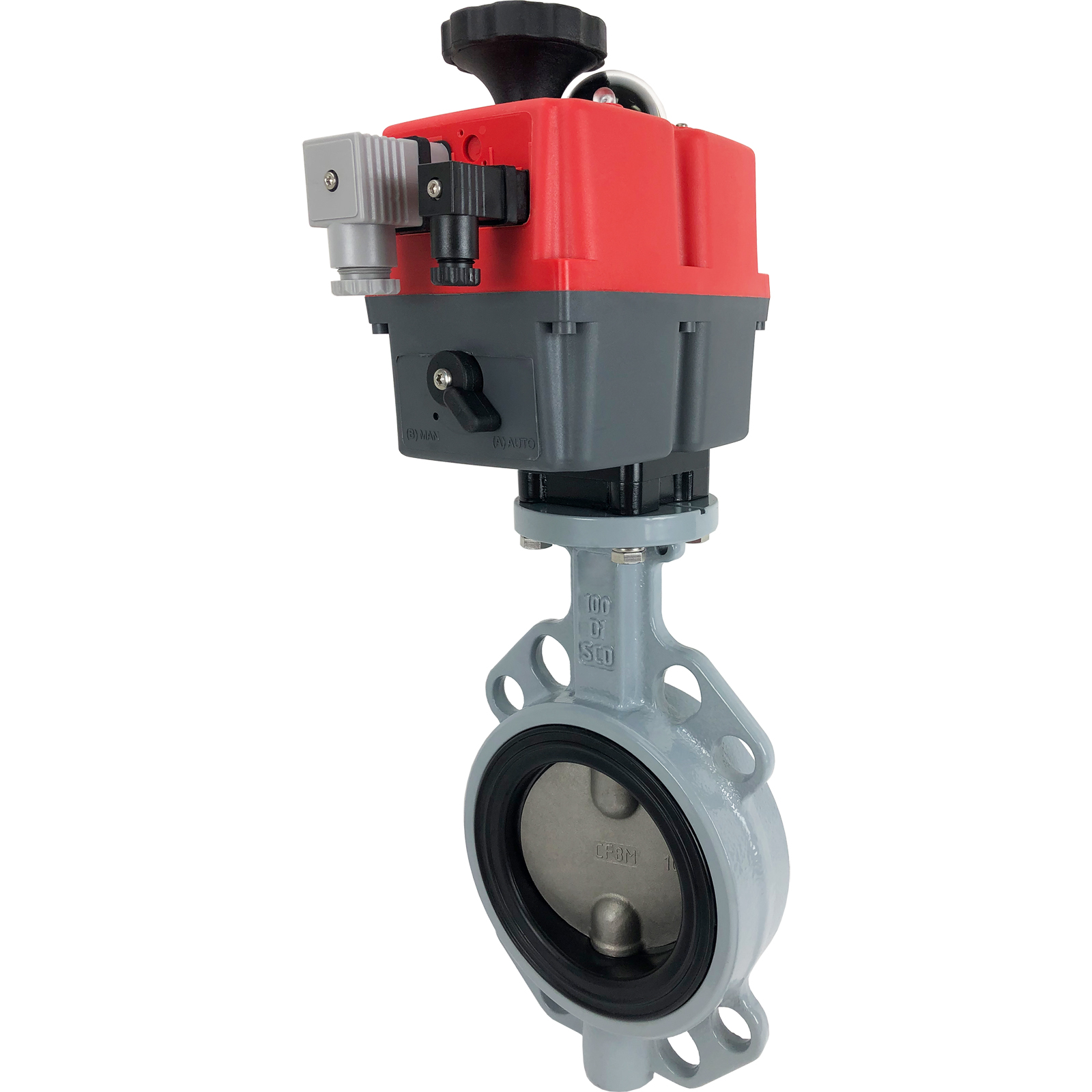 """4"""" Electric Actuated Butterfly Valve, Wafer, EPDM, 24-240V"""
