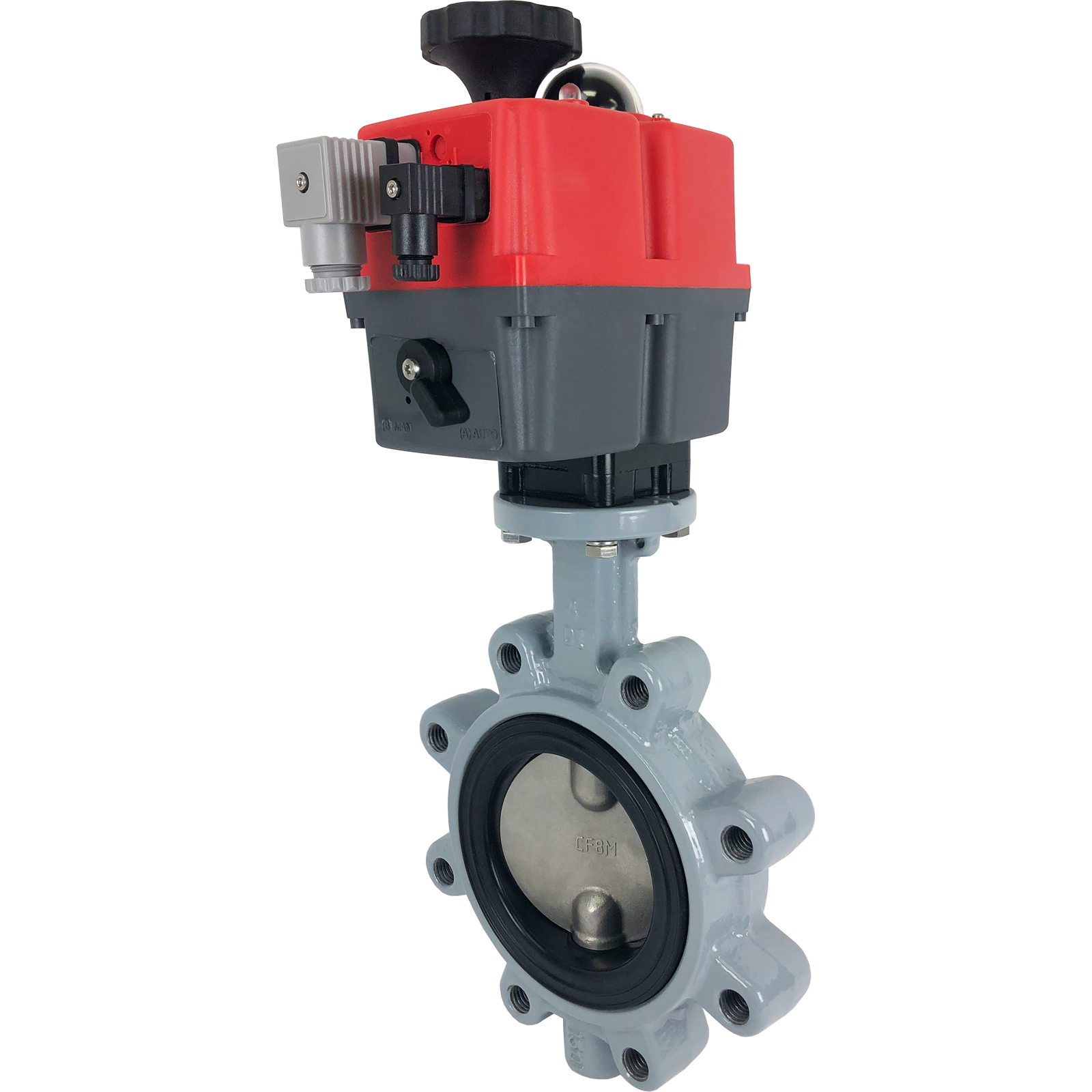 "4"" Electric Actuated Butterfly Valve, Lug, NBR, 24-240V"