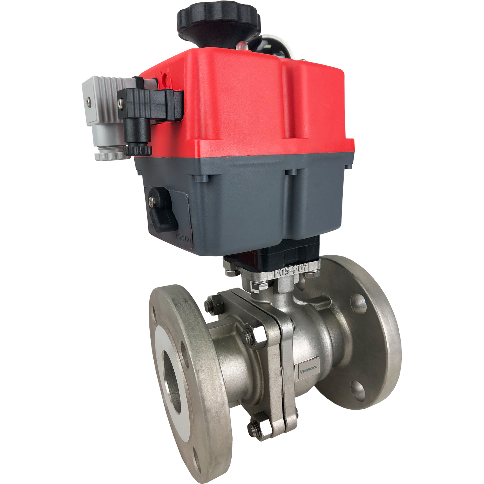 """2"""" Electric 150# Flanged SS Ball Valve, 24-240V"""