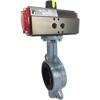 Air Actuated Wafer Butterfly Valves- Scotch Yoke