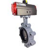Air Actuated Butterfly Valves Lug- Scotch Yoke