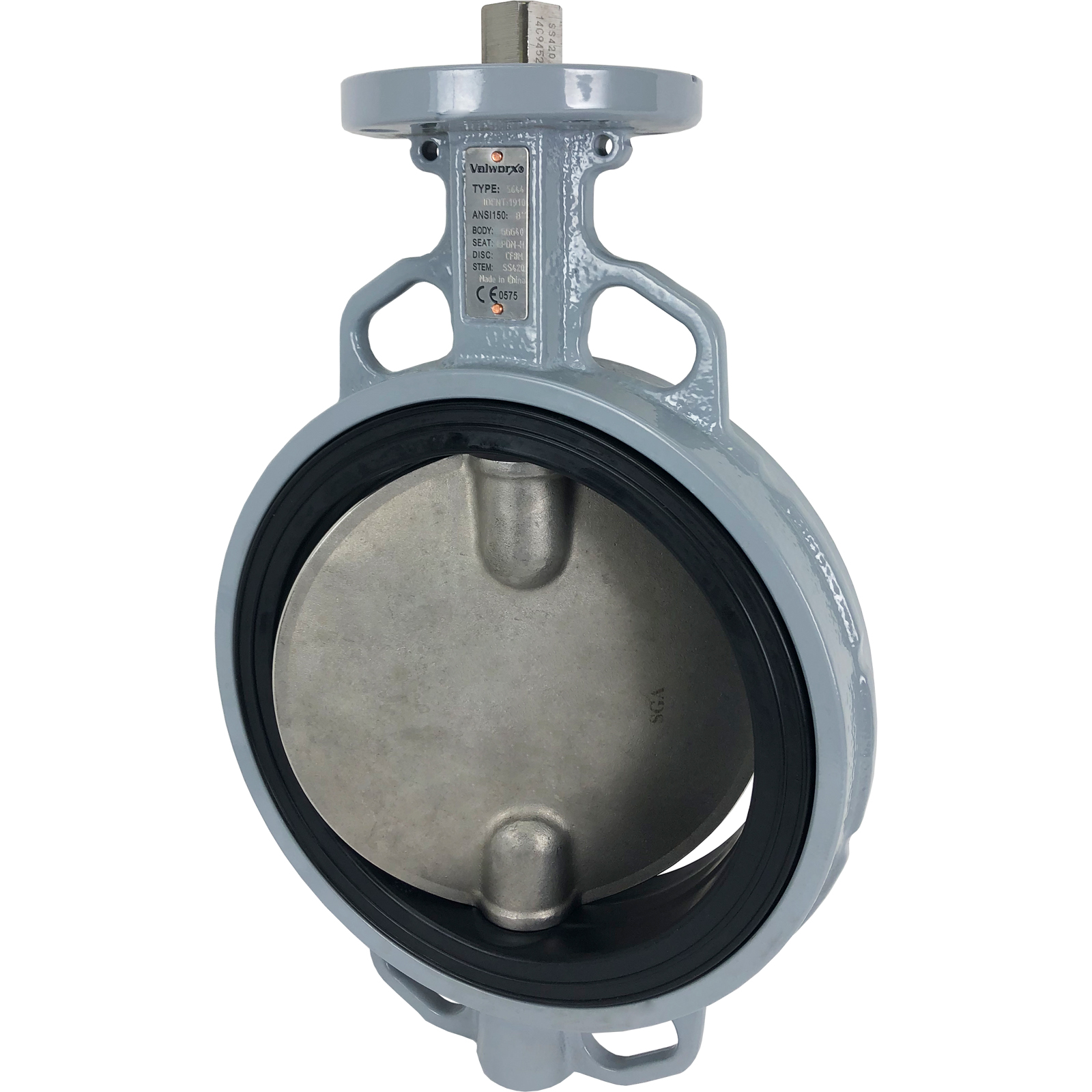 "Direct Mount 8"" Butterfly Valve EPDM"