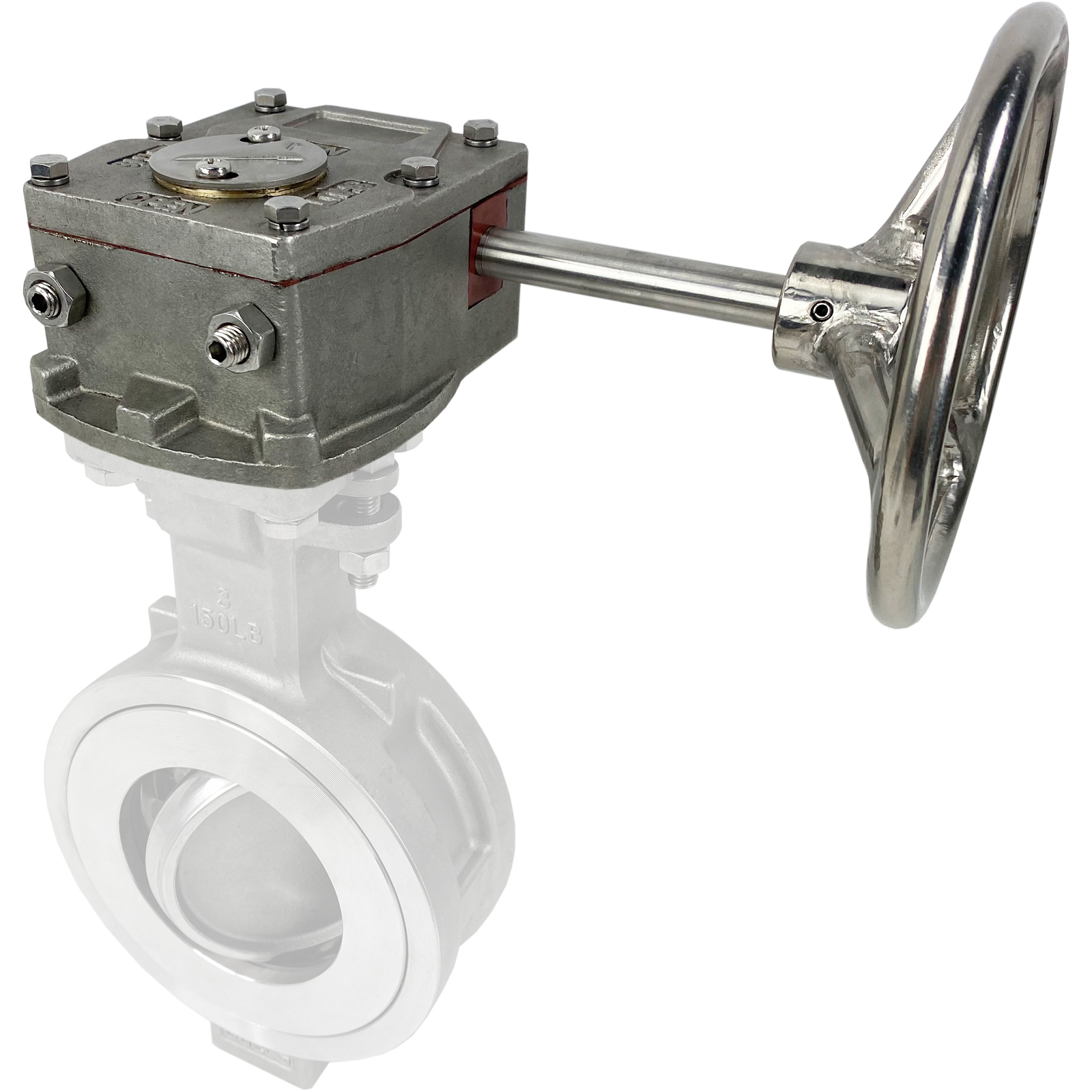 High Performance Gear Operator Handwheel, 11mm Drive