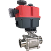 Electric Actuated Sanitary Ball Valves - Multi-Voltage